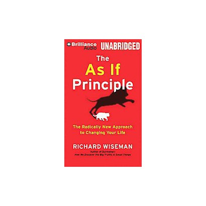 The As If Principle (Unabridged) (Compact Disc)