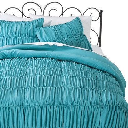 Xhilaration® Ruched Textured Comforter Set