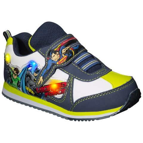 Toddler Boy's Justice League Light Up Sneaker - Multicolor