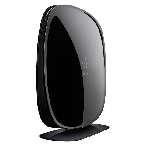 Belkin N600 Dual-Band Wireless Range Extender - Black (F9K1106)
