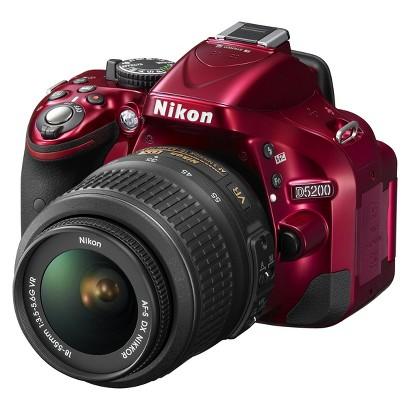 Nikon D5200 24.1MP Digital SLR Camera with 18-55mm Lens