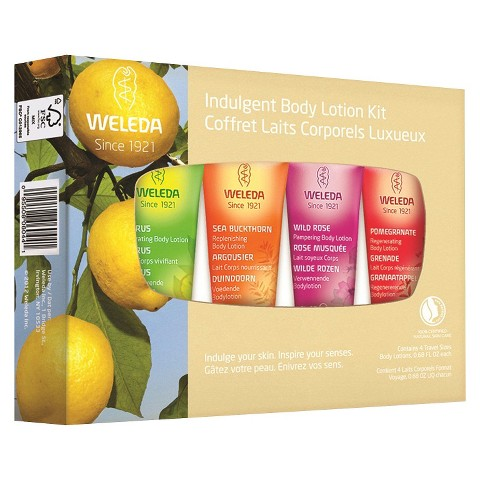 Weleda Indulgent Body Lotion Kit - 4 piece