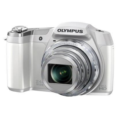 OLYMPUS SZ-15 16MP Digital Camera with 24x Optical Zoom