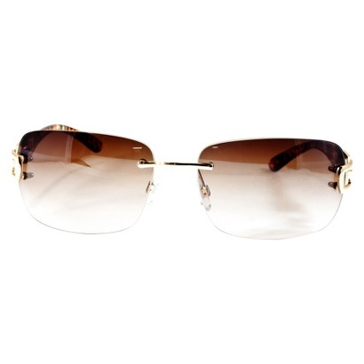 Merona® Round Sunglasses - Brown Frame