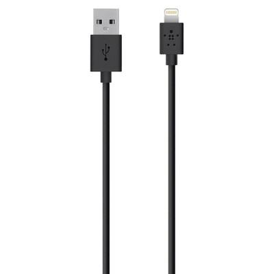 Belkin 4' Lightning Charger Sync Cable - Black (F8J023bt04-BLK)