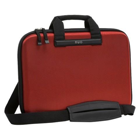 "Nuo Tech Slim 15.6"" Laptop Brief - Red (100081)"