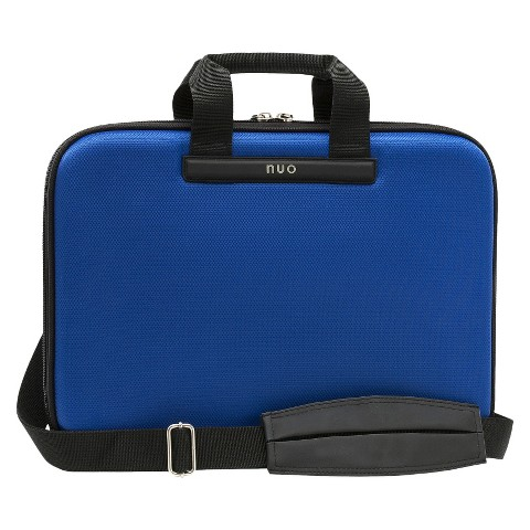 "Nuo Tech Slim 15.6"" Laptop Brief - Blue (100115)"