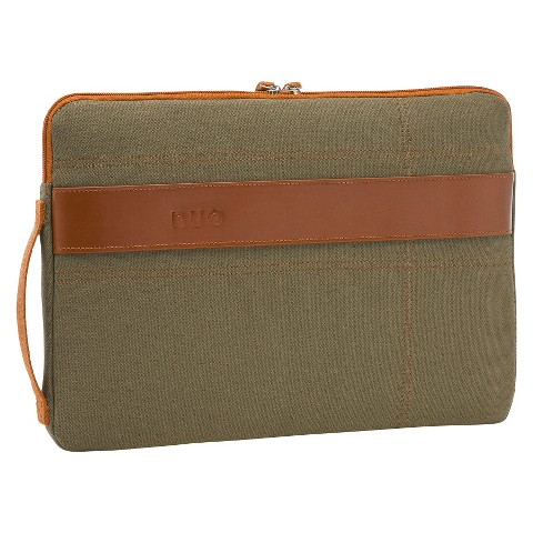 """Nuo Tech 13"""" Laptop Sleeve for MacBook Air - Olive (100134)"""