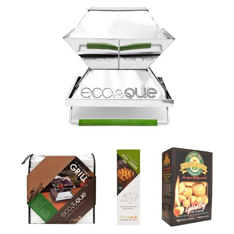 Portable Stainless Grill Starter Pack - 12""