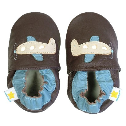 Ministar Infant Boys' Airplane Shoe - Brown