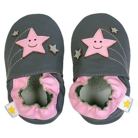 Ministar Infant Girls' Shooting Star Shoe - Grey