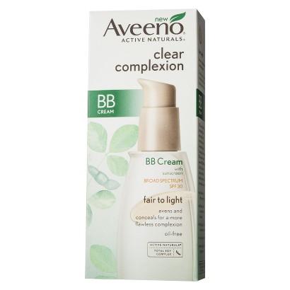 Aveeno Clear Complexion BB Cream Broad Spectrum SPF 30