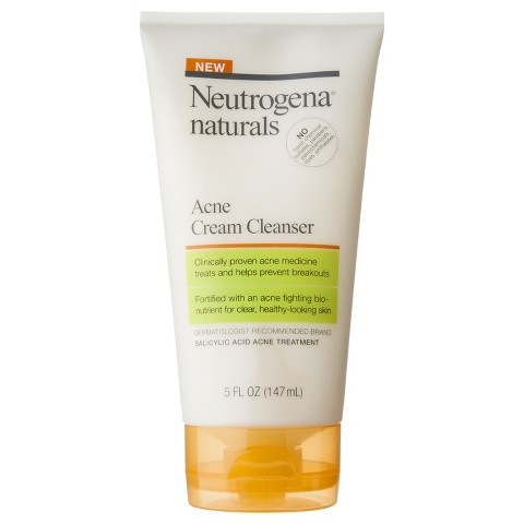 Neutrogena Naturals Acne Cream Cleanser