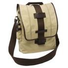 "Nuo Tech Vertical Messenger Style 15.6"" Laptop Bag - Khaki (100064)"