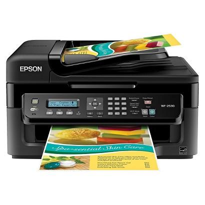 Epson WorkForce WF-2530 All-in-One Wireless Multifunction Inkjet Printer - Black (C11CC37201)