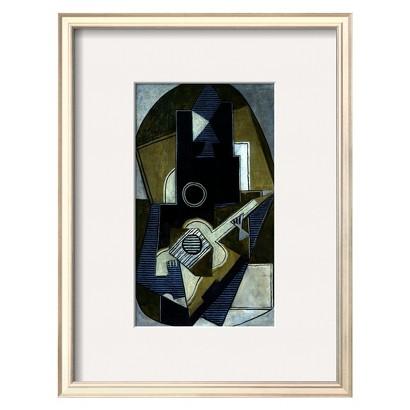 Art.com - L'Homme a la Guitare, 1918 Framed Art Print