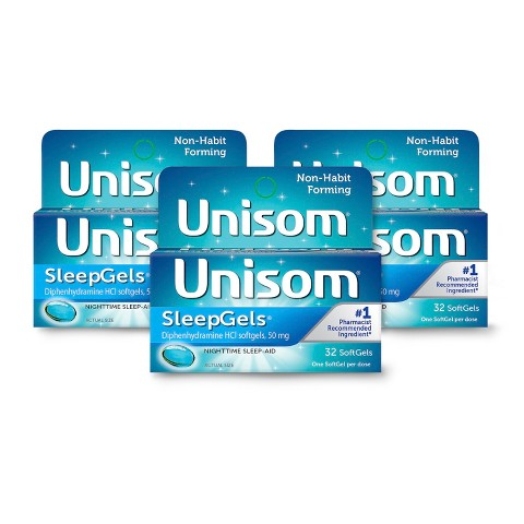 Unisom® SleepGels Night Time Sleep-Aid Softgels
