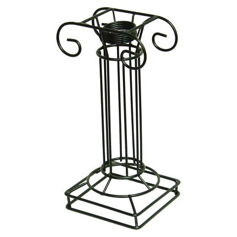 Ionic Iron Globe Pedestal - Black