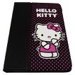 Hello Kitty iPad Mini Folio Case - Black and Pink (KT4346PBD)