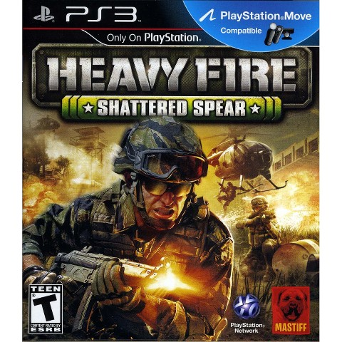 Heavy Fire Shattered Spear (PlayStation 3)