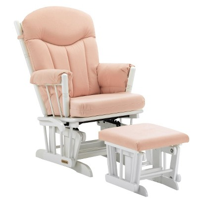 Shermag Glider Rocker and Ottoman Combo