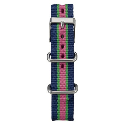 Women's Timex Weekender™ Mid-Size Slip Thru Replacement 18mm Strap - Multicolor - T7B971TV