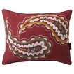 "Mudhut™ Sofia Paisley Decorative Pillow - Brick Red (14x18"")"