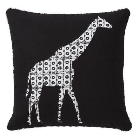 "Mudhut™ Suri Giraffe Decorative Pillow - 18x18"""