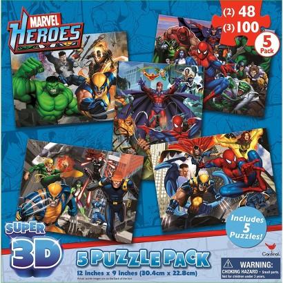 Marvel's Avengers Assemble Super 3D Puzzle Pack