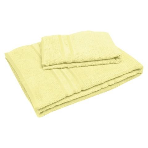 "Soft Touch ""Popcorn"" Textured Smart Dry Pet Towel Set - Custard (30x54"",16x24"")"