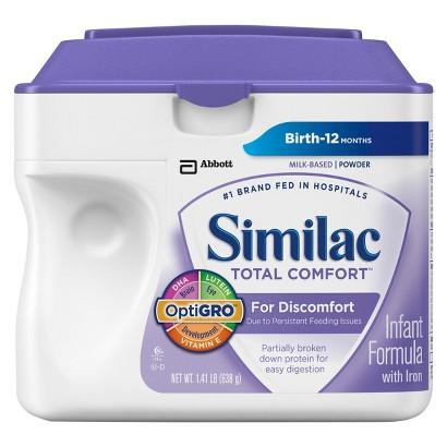 Similac® Total Comfort Powder - 1.41lb (4 pack)