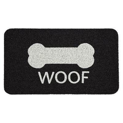 """Room Essentials™ Noodle Doormat - Black (1'6""""x2'6"""")"""