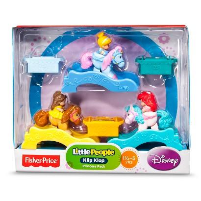 Fisher-Price® Little People Disney Princess Klip Klops 3 Pack