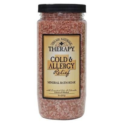 Village Naturals Therapy™ Cold and Allergy Mineral Bath Soak - 20 oz