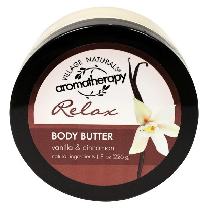 Village Naturals® Aromatherapy Relax Body Butter - 8 oz