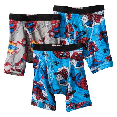 Spiderman Boys' 3-Pack Boxer Brief - Assorted
