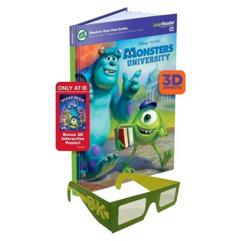 LeapFrog® LeapReader™ Book: Disney Pixar Monsters University 3D  - Target Exclusive (works with Tag)