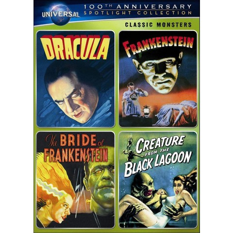 Classic Monsters, Vol. 1 (Universal 100th Anniversary) (4 Discs) (S)