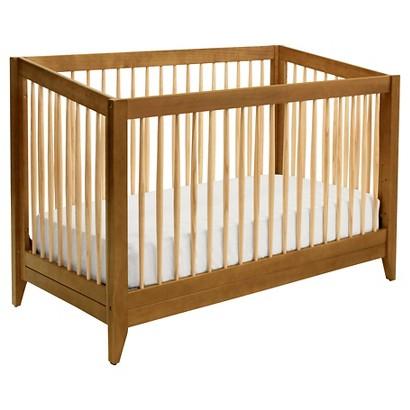 DaVinci Highland 4-in-1 Convertible Crib with Toddler Rail - Chestnut