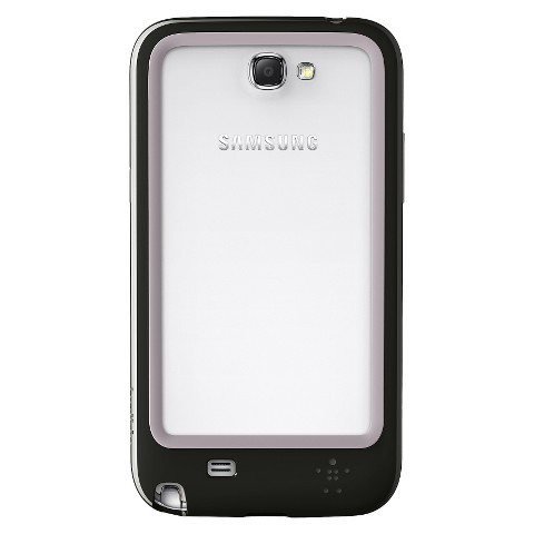 Belkin Surround Cell Phone Case for Samsung Galaxy Note 2 - White/Black (F8M509ttC00)