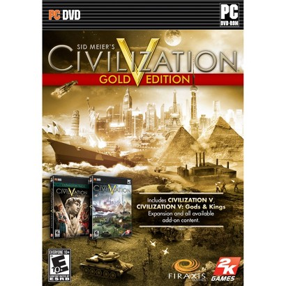 Sid Meier's Civilization V Gold Edition (PC Games)