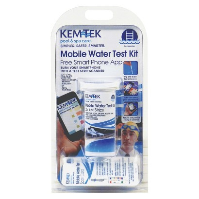 KEM-TEK MOBILE WATER TEST KIT WITH FREE APP