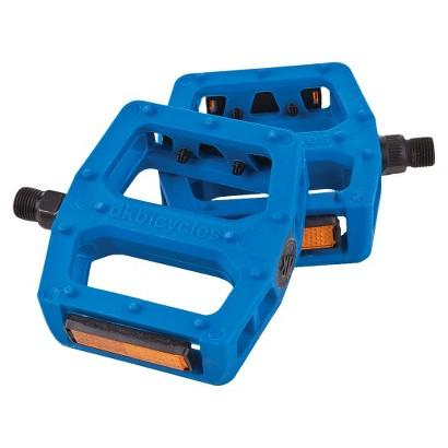 """DK Pedal Blue - 9/16"""" axle"""