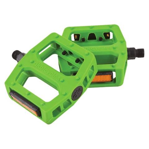 "DK Pedal Green - 9/16"""" axle"