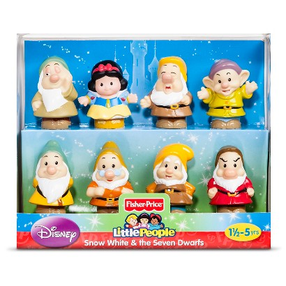 Fisher-Price® Little People Disney Princess Snow White and the Seven Dwarfs Gift Set