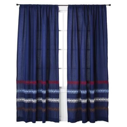 "Mudhut™ Xavier Window Panel - Blue (55x84"")"