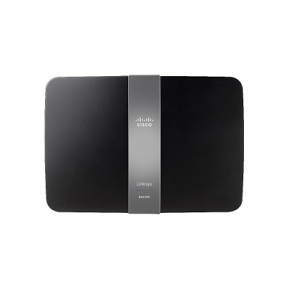 Linksys AC1200 Smart Wi-Fi Wireless Router - Black (EA6300-4A)