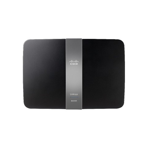 Linksys AC1200 Smart Wi-Fi Wireless Router - Black (EA6300-4A)