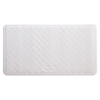 Rubbermaid  Large Bath Mat 16X28 - White