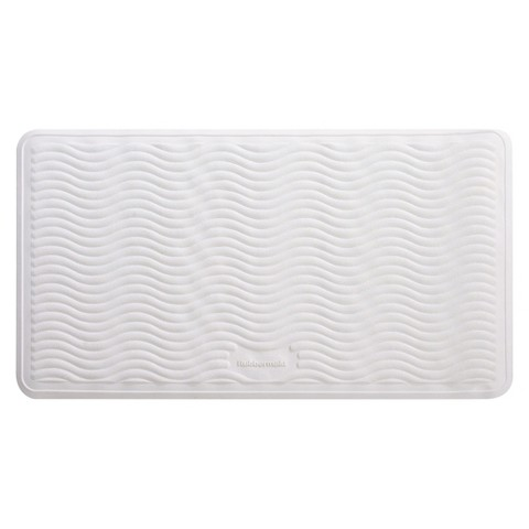 rubbermaid large bath mat 16x28 white target